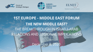 New Forum Brings Together Leaders from Across the Middle East, Europe & the U.S.